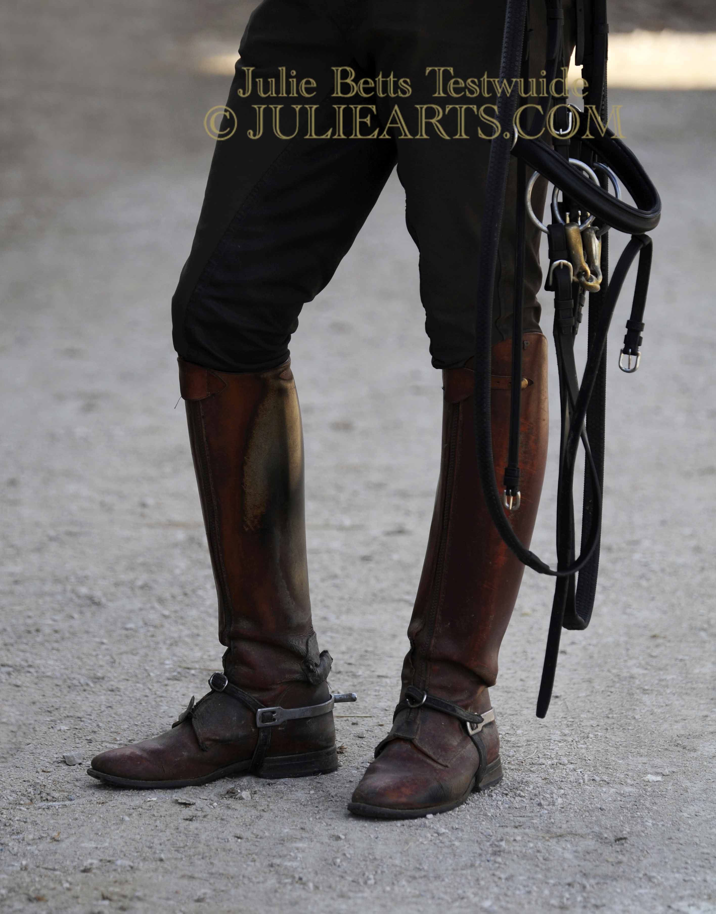 Boots and Bridle